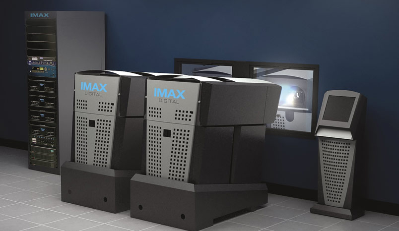 IMAX digital projection system