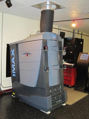 IMAX MPX film projector