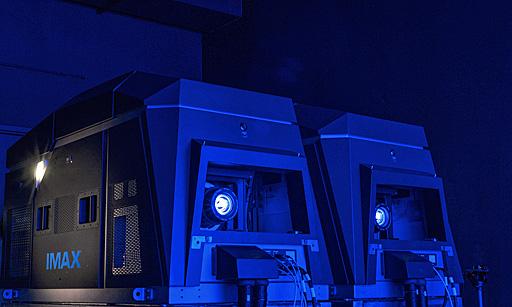 IMAX laser projectors
